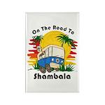 Road To Shambala Rectangle Magnet