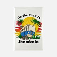 Road To Shambala Rectangle Magnet (10 pack)