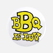 "BBQ is Luv 3.5"" Button"