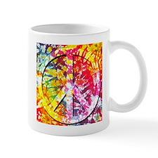 Tie Dyed Peace Mug