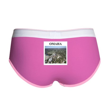 omaha gifts and t-shirts Women's Boy Brief