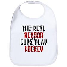 Real reason play hockey Bib
