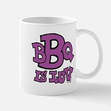 BBQ is Luv Small Small Mug