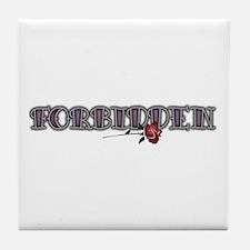 Forbidden Tile Coaster