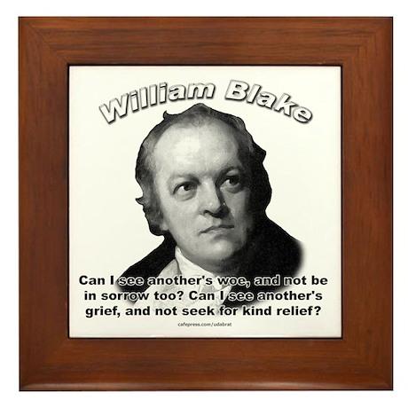 William Blake 01 Framed Tile