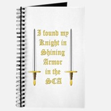 Knight in Shining Armor Journal
