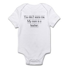 """You don't scare me..."" Infant Bodysuit"