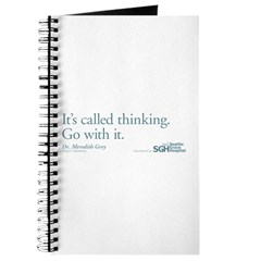 It's called thinking. - Grey's Anatomy Journal