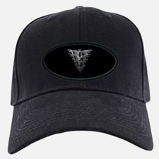 Bat Black Baseball Cap