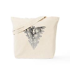 Bat Black Tote Bag