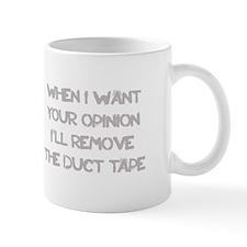 WANT YOUR OPINION travel mug Mugs