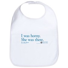 I was horny. - Grey's Anatomy Bib