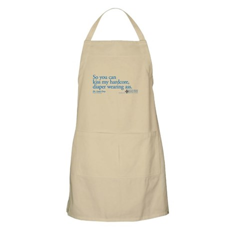 Hardcore Diaper - Grey's Anatomy Apron
