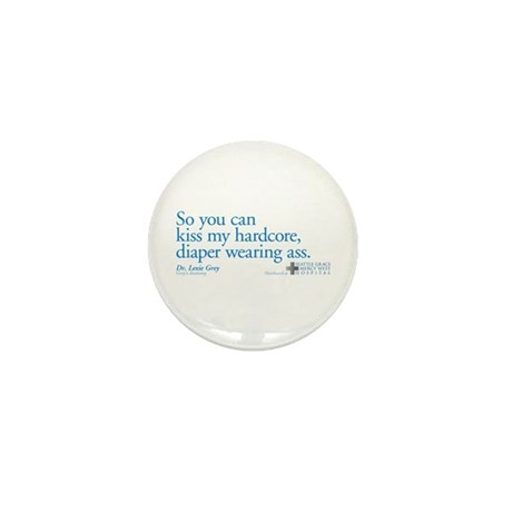 Hardcore Diaper - Grey's Anatomy Mini Button (10 p