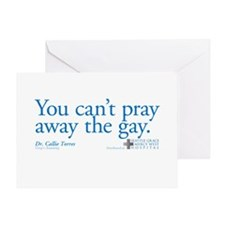 Pray Away the Gay - Grey's Anatomy Greeting Card