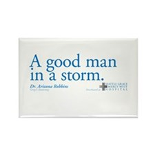 Good Man - Grey's Anatomy Rectangle Magnet