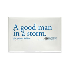 Good Man - Grey's Anatomy Rectangle Magnet