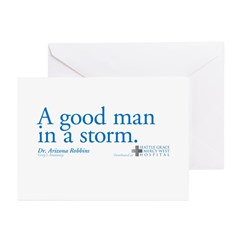 Good Man - Grey's Anatomy Greeting Cards (Pk of 20