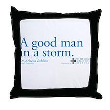 Good Man - Grey's Anatomy Throw Pillow