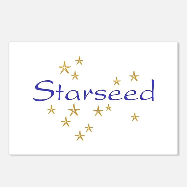 Starseed Postcards (Package of 8)