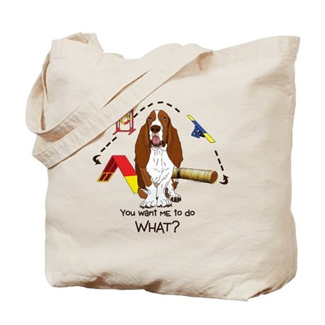 Bassett Agility Tote Bag