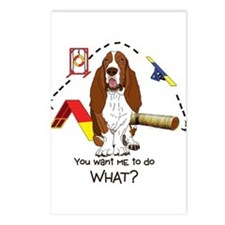 Bassett Agility Postcards (Package of 8)