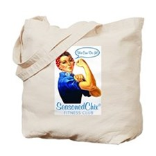Seasoned Chix Logo Tote Bag