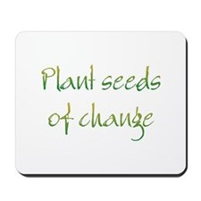 Plant Seeds Mousepad
