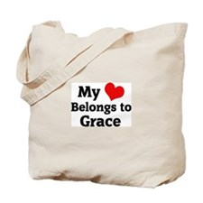 My Heart: Grace Tote Bag