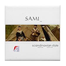 Sami family Tile Coaster