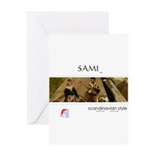 Sami family Greeting Card