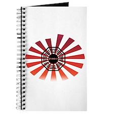 Dharma Red Swirl Journal