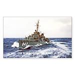 USS WARRINGTON Sticker (Rectangle)
