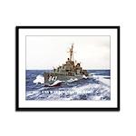 USS WARRINGTON Framed Panel Print