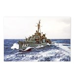 USS WARRINGTON Postcards (Package of 8)