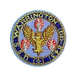 "USS WARRINGTON 3.5"" Button"