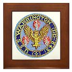 USS WARRINGTON Framed Tile