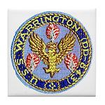 USS WARRINGTON Tile Coaster