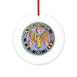 USS WARRINGTON Ornament (Round)