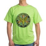 USS WARRINGTON Green T-Shirt