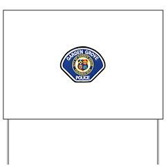 Garden Grove Police Yard Sign