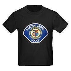 Garden Grove Police Kids Dark T-Shirt