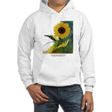 Goldfinch and Sunflower Hoodie