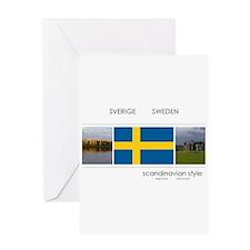 Sverige Sweden Greeting Card