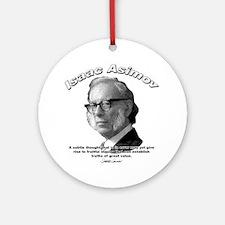 Isaac Asimov 01 Ornament (Round)