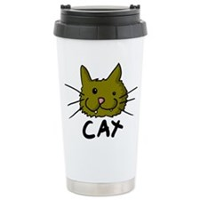 C-A-T Stainless Steel Travel Mug
