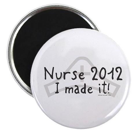 "Nurse Graduated 2012 2.25"" Magnet (100 pack)"