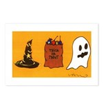 TRICK OR TREAT - Postcards (Package of 8)
