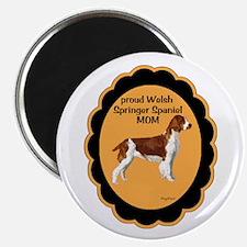 Welsh springer Spaniel Mom Magnet