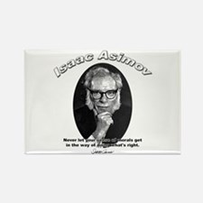 Isaac Asimov 02 Rectangle Magnet